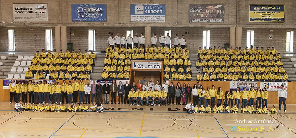 La presentació oficial de la temporada 2015-2016, el 22 de novembre al Pavelló Municipal d'Esports