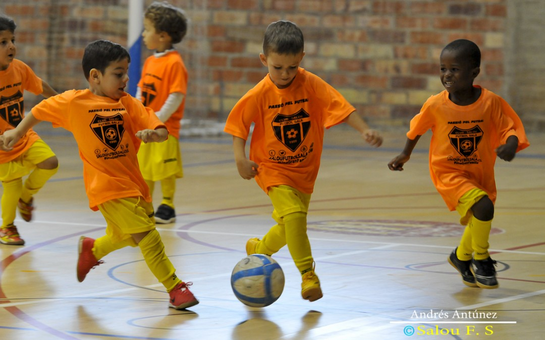 Gaudeix de l'estiu a l'Escola d'Estiu del Club Salou Futbol Sala