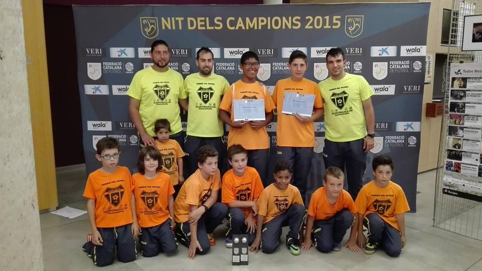 El Club Salou Futbol Sala present a la Nit dels Campions 2015