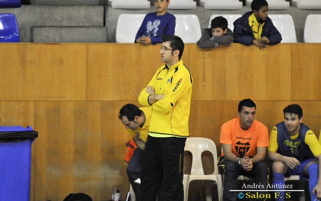 """Jomi López: """"Para recuperar la categoría tendremos que trabajar y sacar el máximo rendimiento a cada jugador"""""""