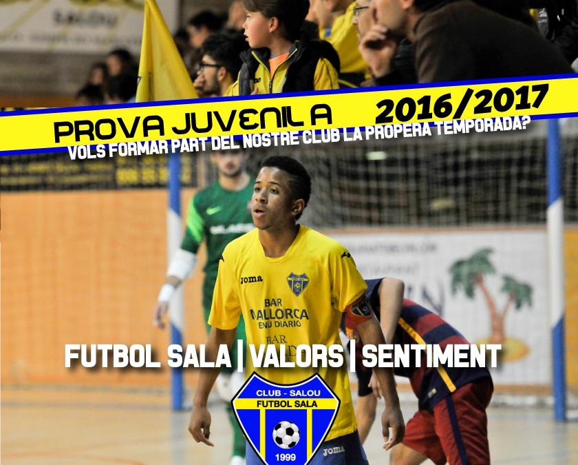 Prova Juvenil A 2016/2017