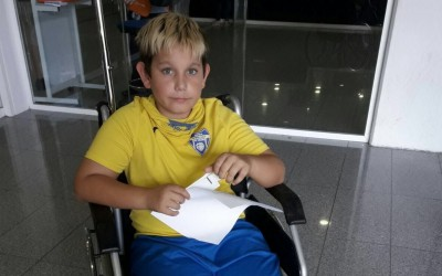 ALEVI 1er ANY | Lesió d'Ian