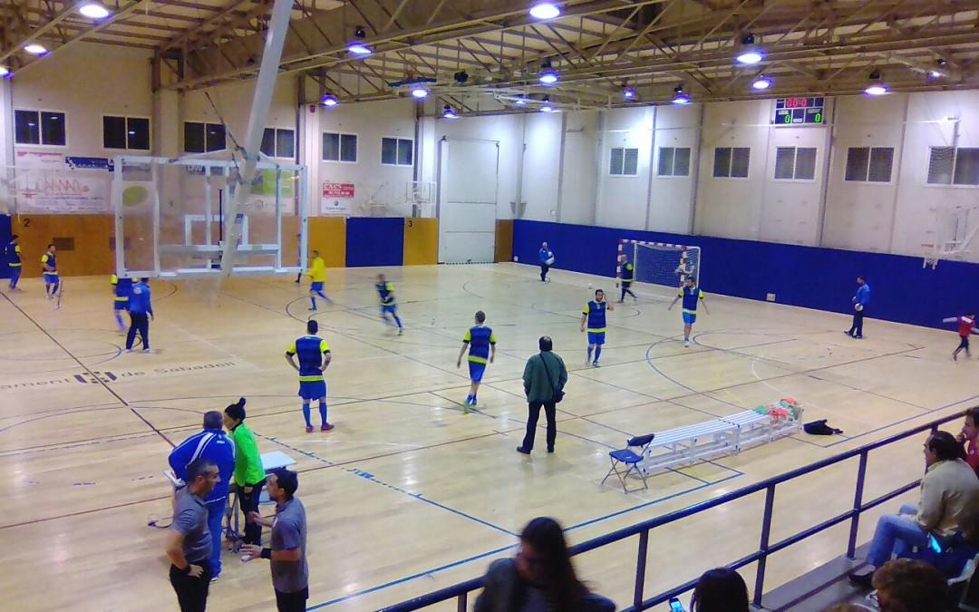 PRIMER EQUIP | Crònica partit contra CN Sabadell