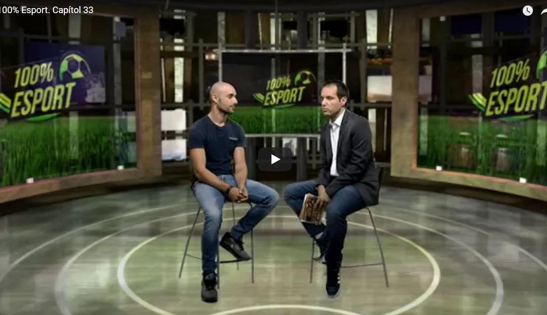 PREMSA | Aitor Vega present al programa 100% Esport de TAC12