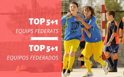 CLUB | TOP 5+1 Equips Federació