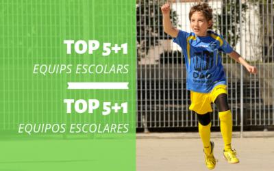 CLUB | TOP 5+1 Equips Escolars